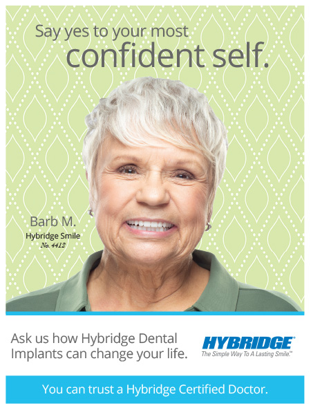 Hybridge Dental Implants Will Give You Back Your Teeth